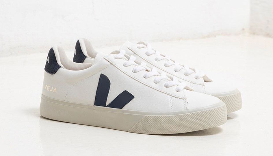 Veja Campo Sneakers Are Made From Cotton And Corn Waste