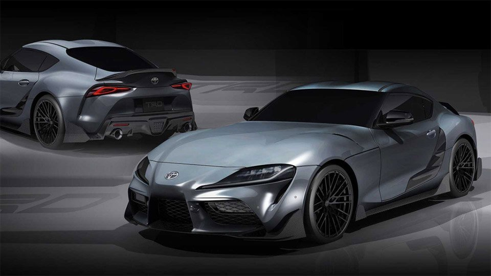 Toyota Supra TRD Concept Amps up the Aero