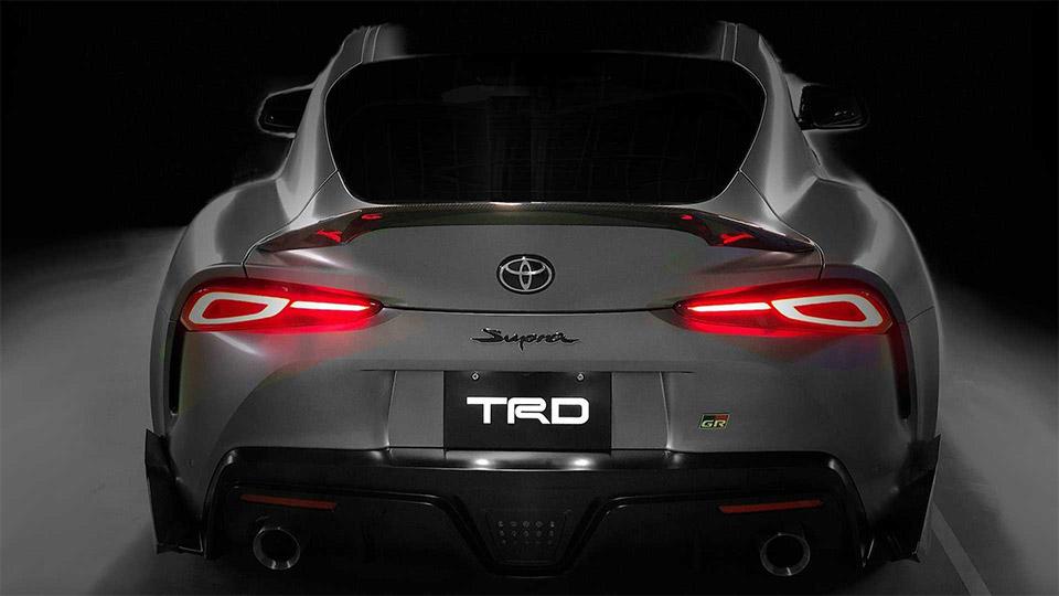 Toyota Supra TRD Concept Amps up the Aero