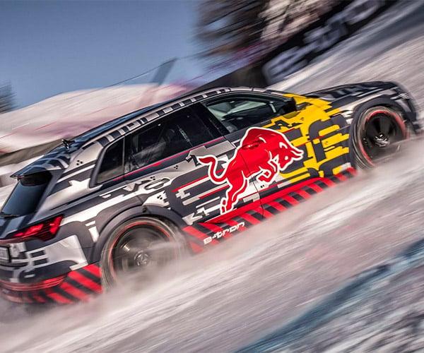 Audi Ice Climb