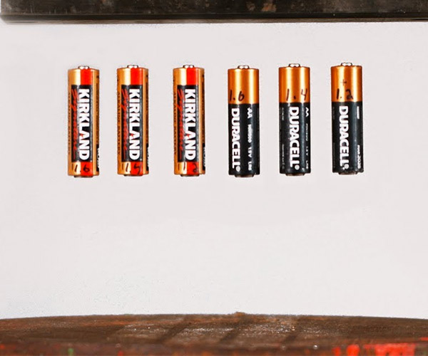 Battery Bounce Test Slow-mo