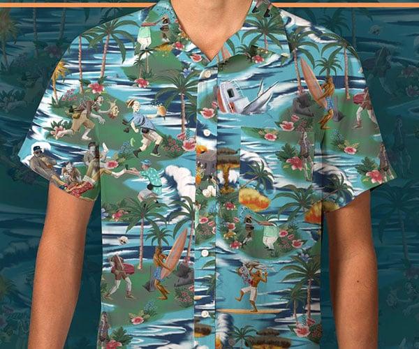 Betabrand Apocaloha! Shirt