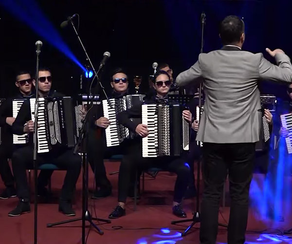 Billie Jean Accordion Orchestra