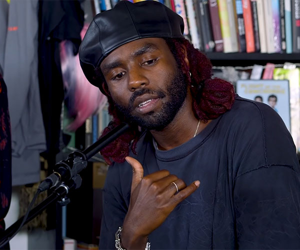 Blood Orange: Tiny Desk Concert