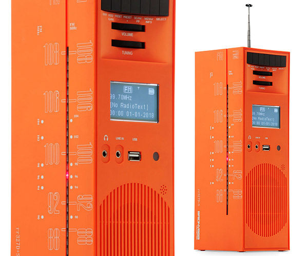Grattacielo Radio Speaker