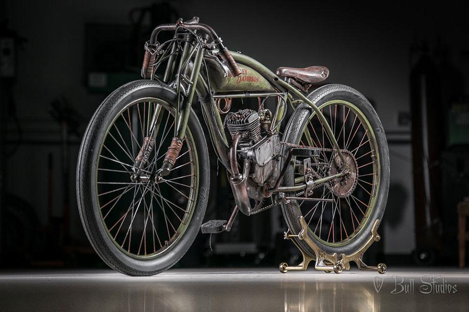 Bull Motor Board Track Motorcycles