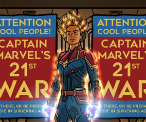 Captain Marvel Trailer Spoof