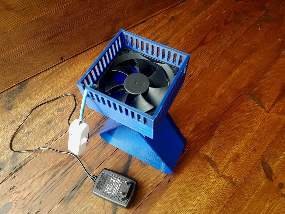 DIY 3D Printed Bladeless Fan