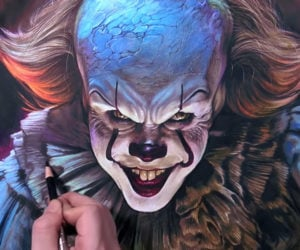 Drawing Pennywise