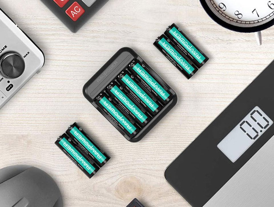 High Capacity Battery Charger