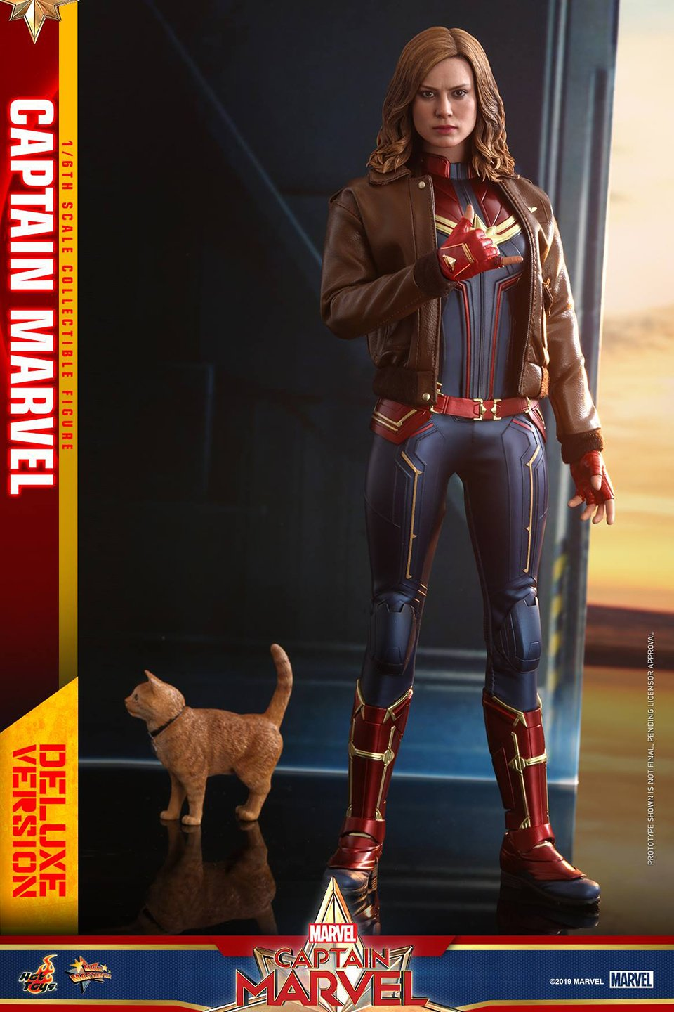 Check out Hot Toys' Action Figure of Brie Larson as Captain Marvel