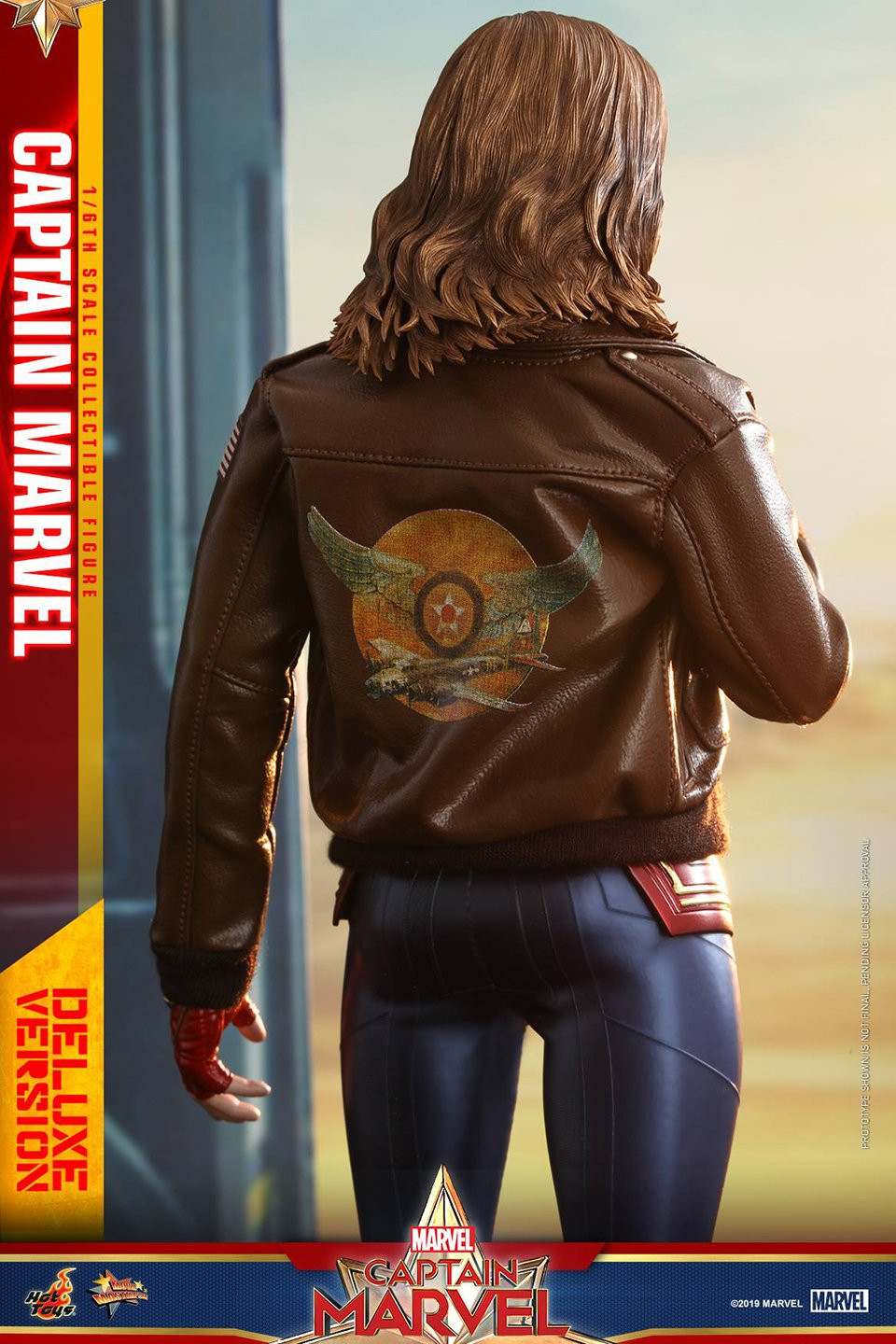 Check Out Hot Toys Action Figure Of Brie Larson As