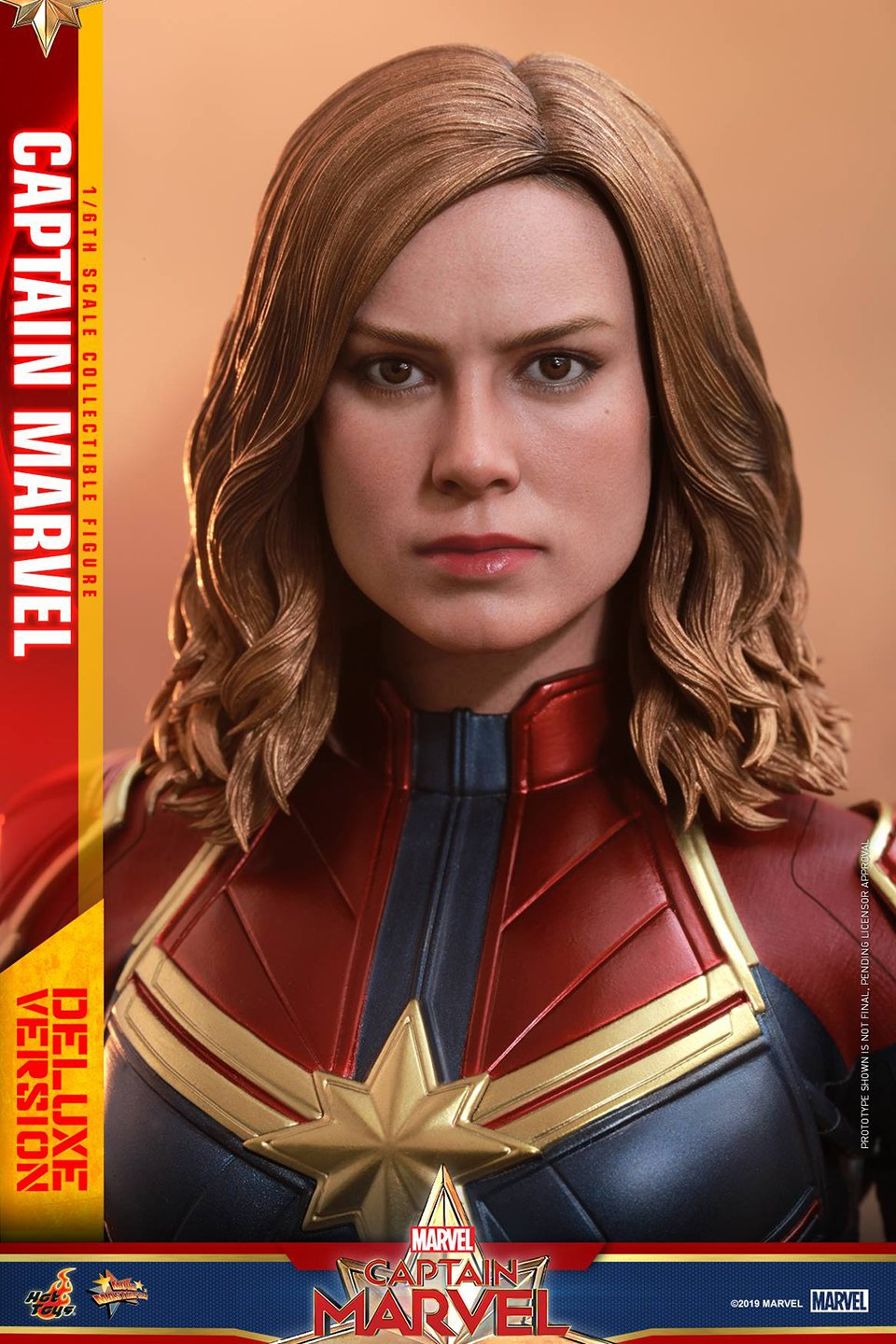 Hot Toys Captain Marvel Action Figure