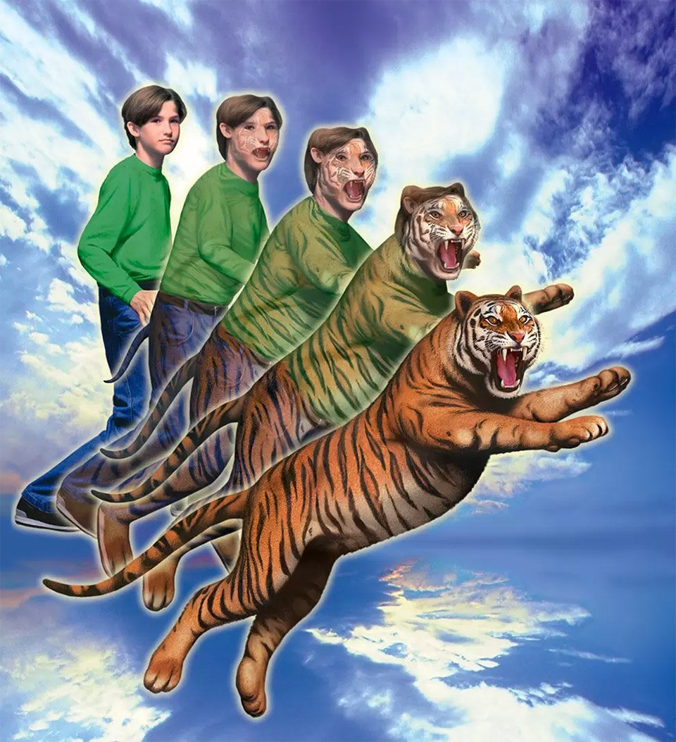How Animorph Covers Were Made