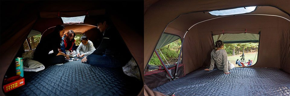 The Ikamper X Cover Roof Top Tent Sets Up In Just 3 Minutes