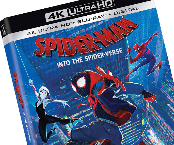 Into the Spider-Verse 4K Blu-ray