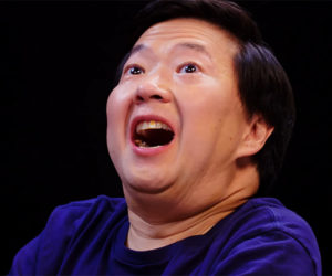 Ken Jeong vs. Hot Wings