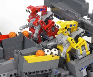 LEGO Catch and Spin Robots