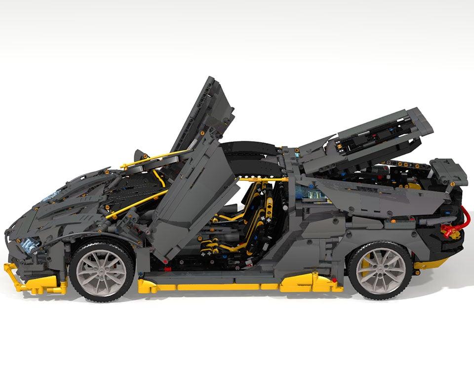 LEGO Lamborghini Centenario Concept