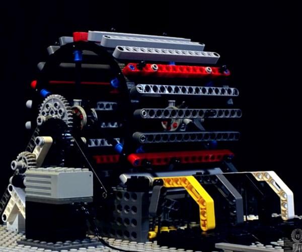 LEGO Tamburo Meccanico
