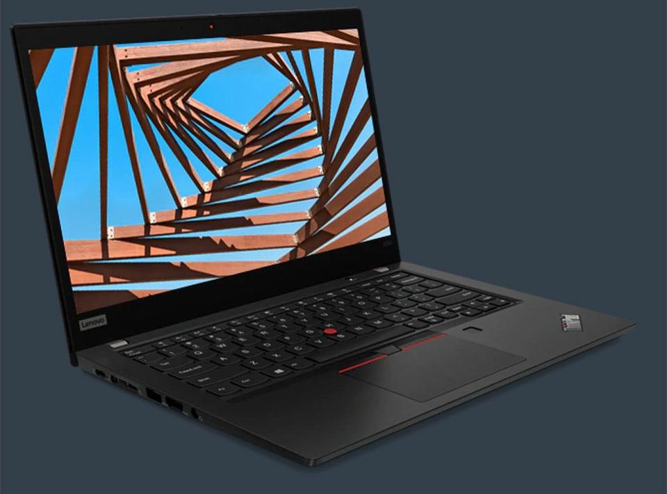 The Lenovo ThinkPad X390 Packs Thin Bezels and Long Battery Life
