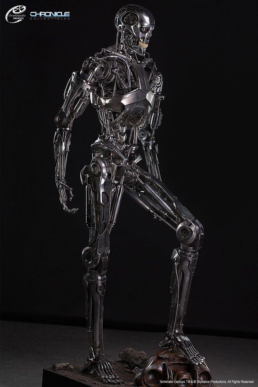 Life-Size Terminator Endoskeleton