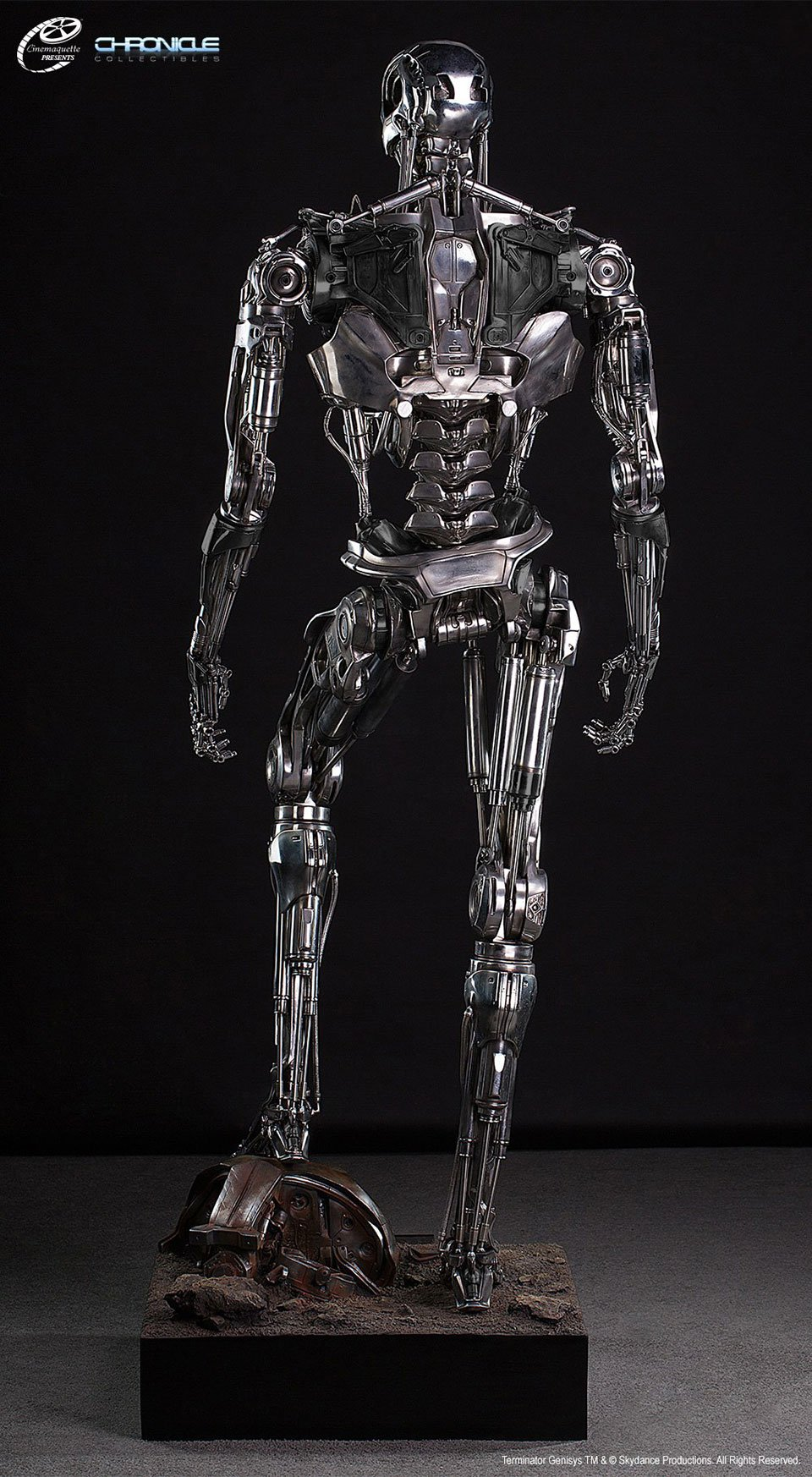 Life-Size Terminator T-800 Endoskeleton