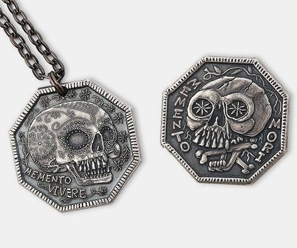 Memento Mori & Vivere Coins