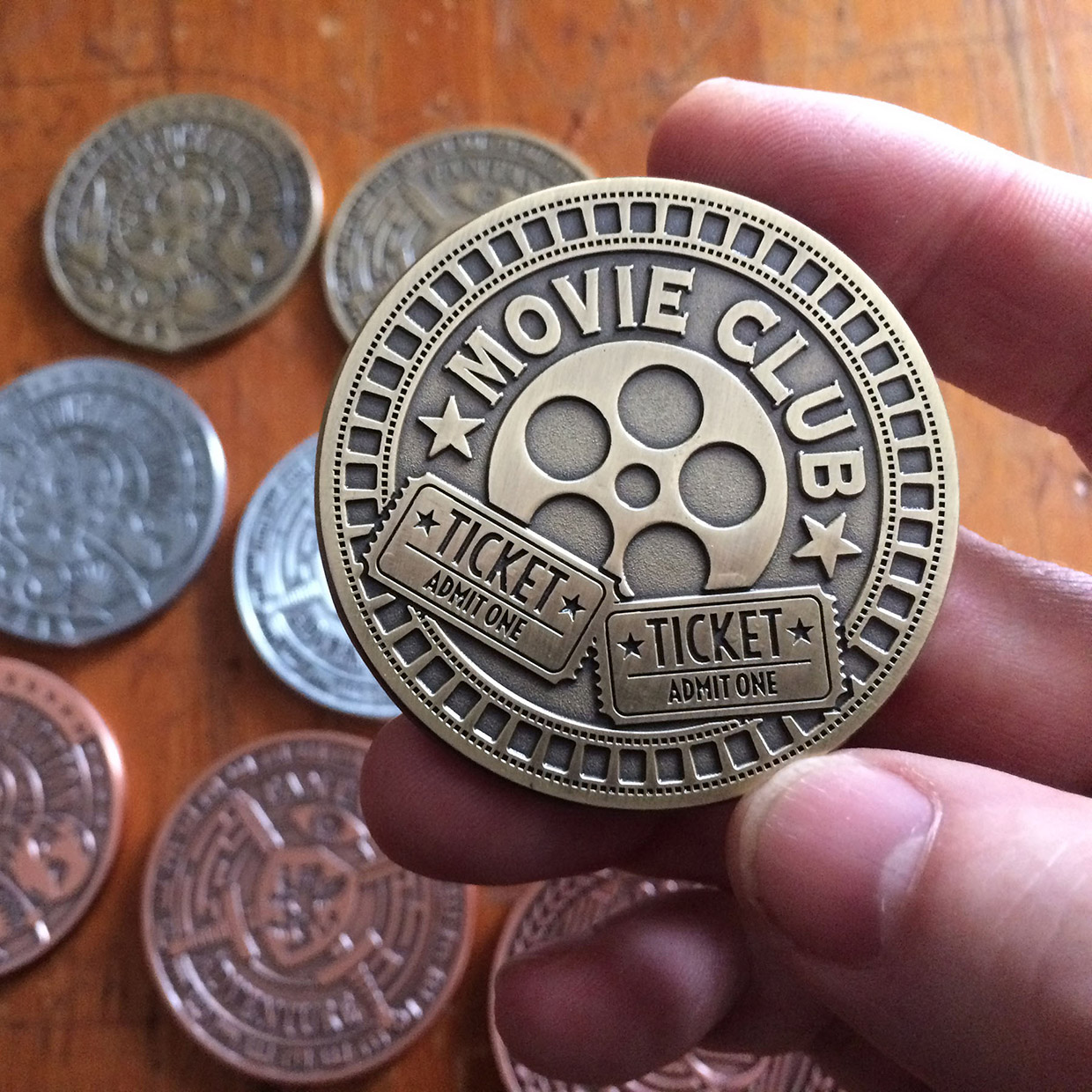 Movie Genre Coins