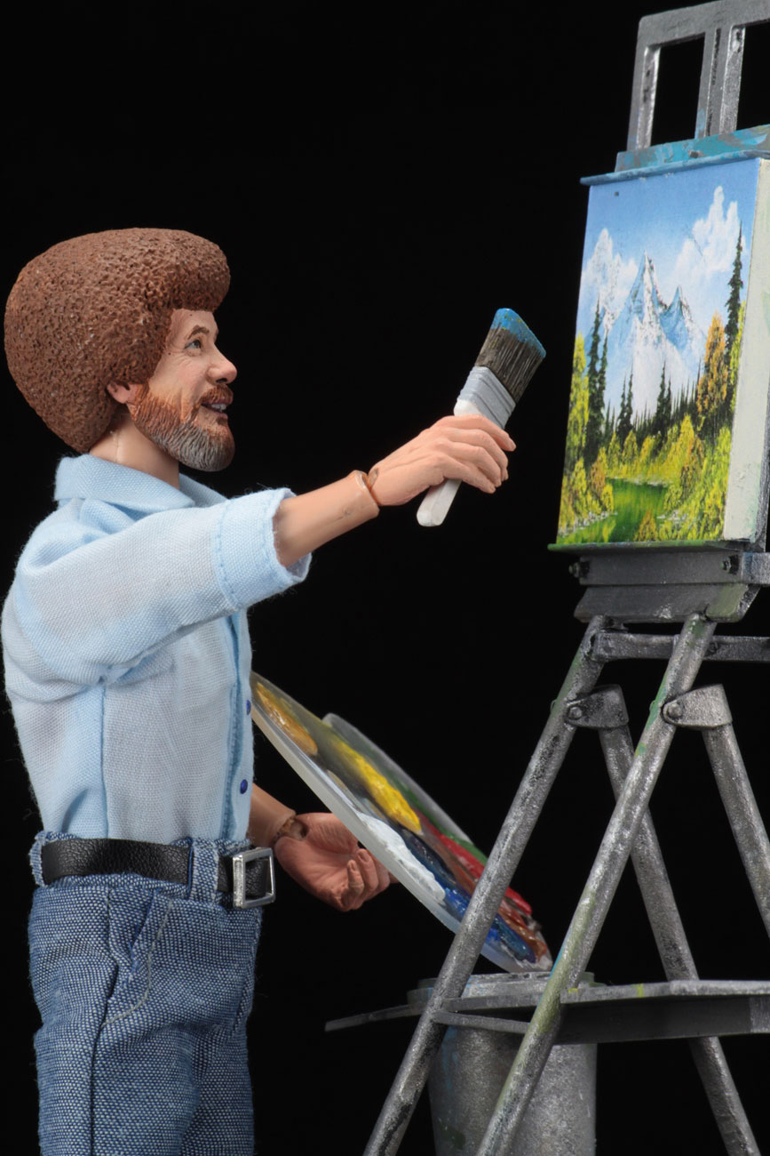 NECA Bob Ross Action Figure