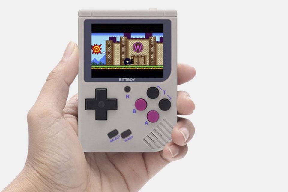 New BittBoy Handheld Retro Console