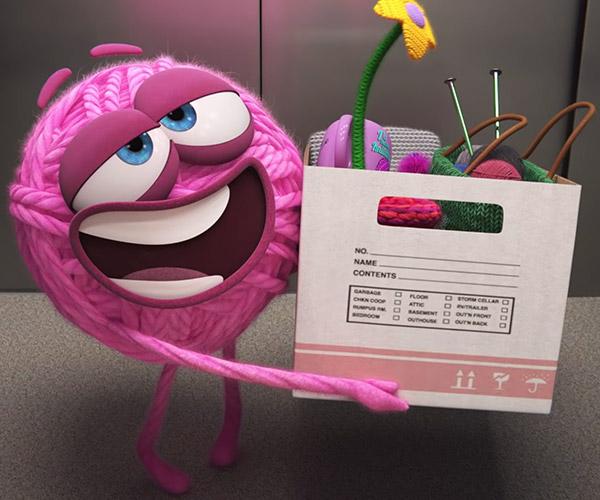 Pixar: Purl