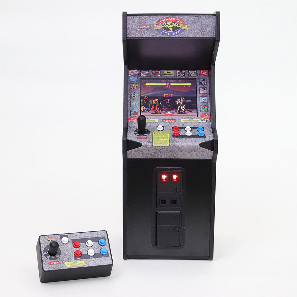 Replicade Street Fighter II Arcade