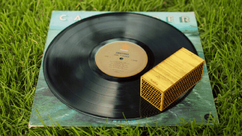 RokBlok Tiny Record Player