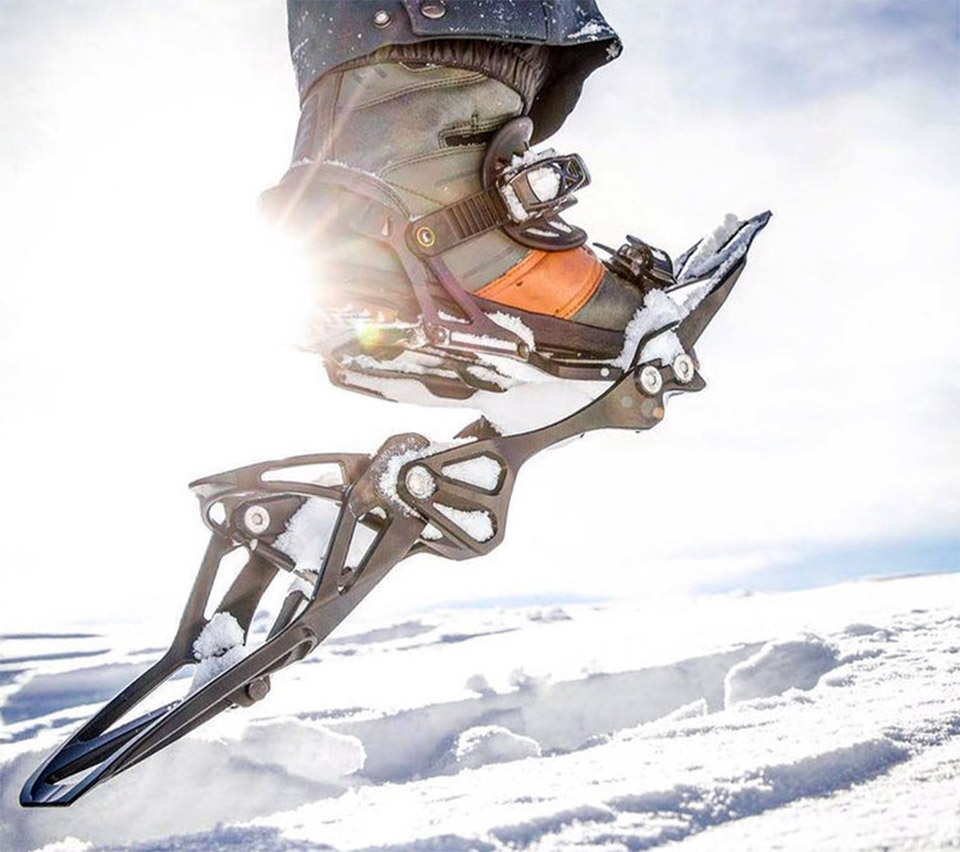 RST Convert Snowboard Snowshoe