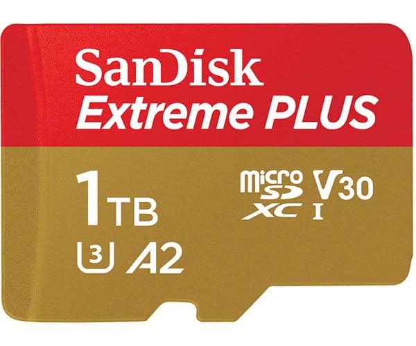 Sandisk 1TB MicroSD Card