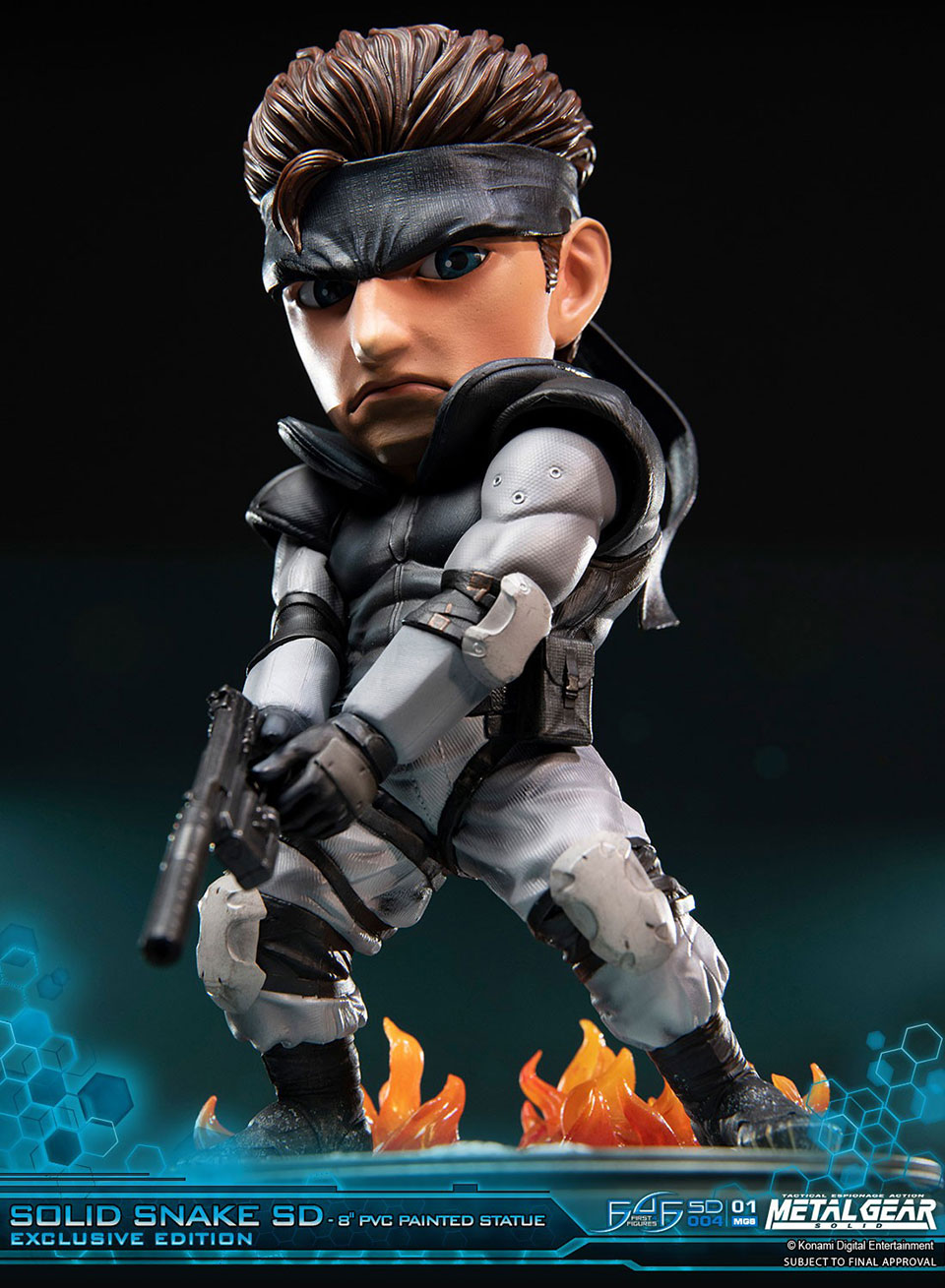 Solid Snake SD Statue