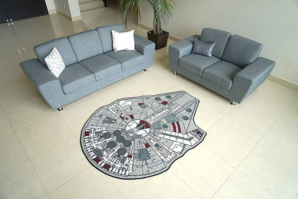Star Wars Millennium Falcon Rug