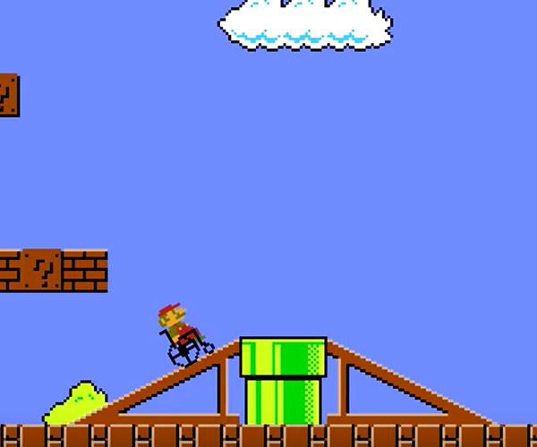 Super Wheelchair Mario