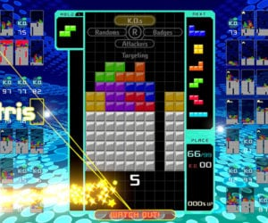 Tetris 99 for the Nintendo Switch