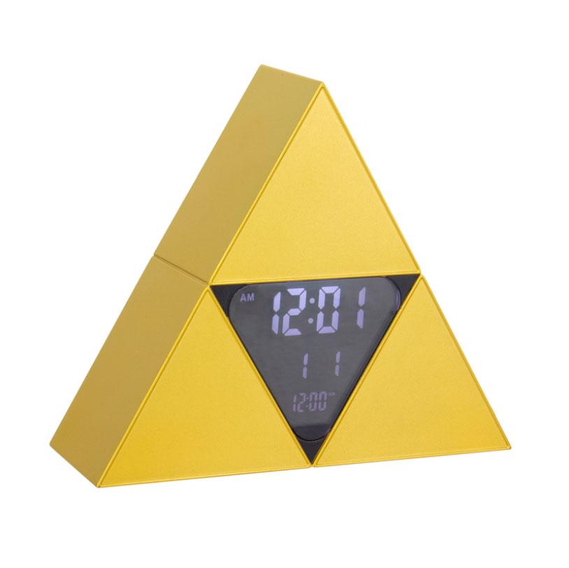 Zelda Triforce Alarm Clock