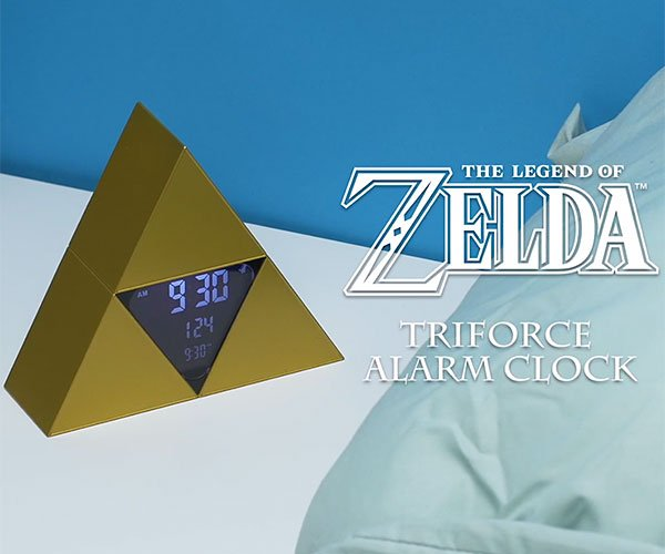 Zelda Triforce Alarm Clock