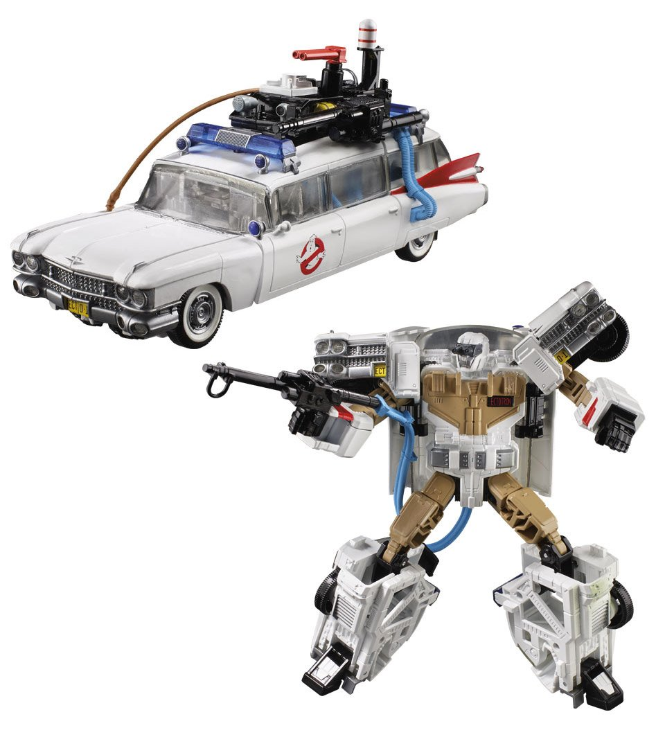 If Ghostbusters Ecto-1 Was a Transformer, You'd Get... Ectotron!