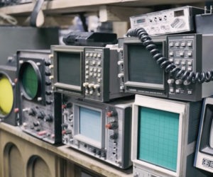 Vintage Electronics Prop Library