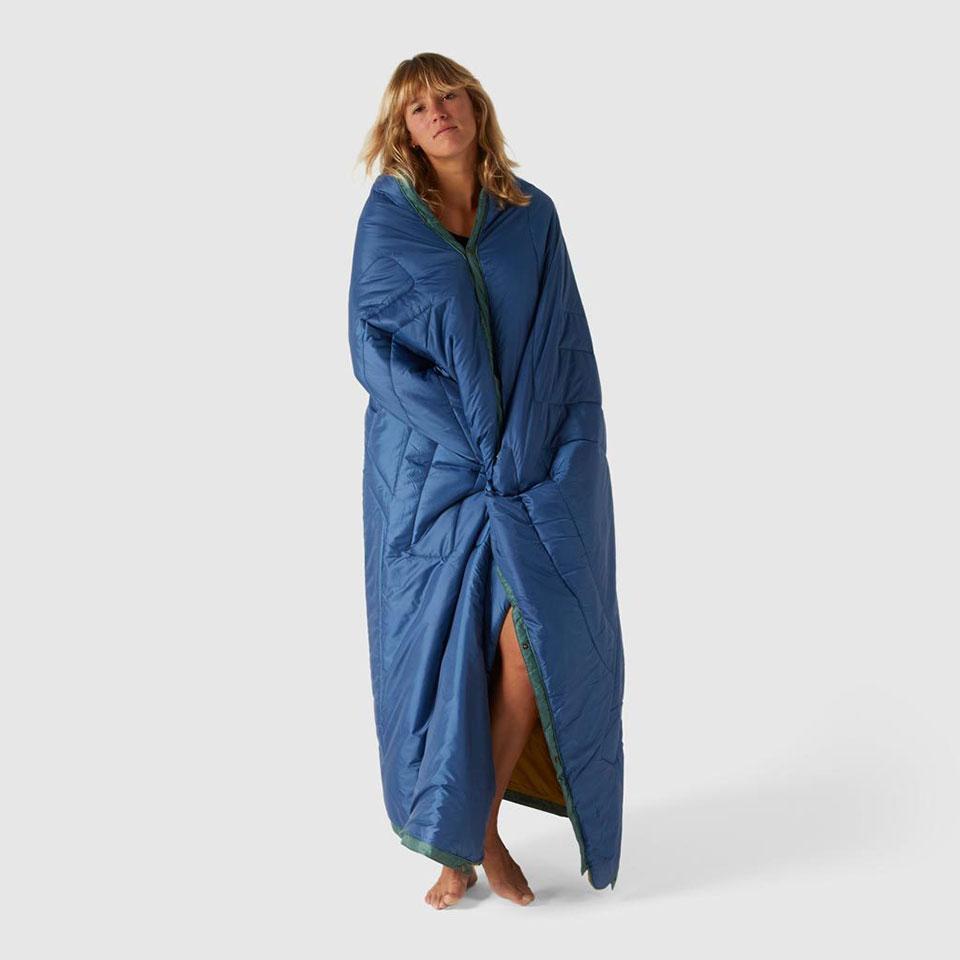 Voited Pillow Blanket