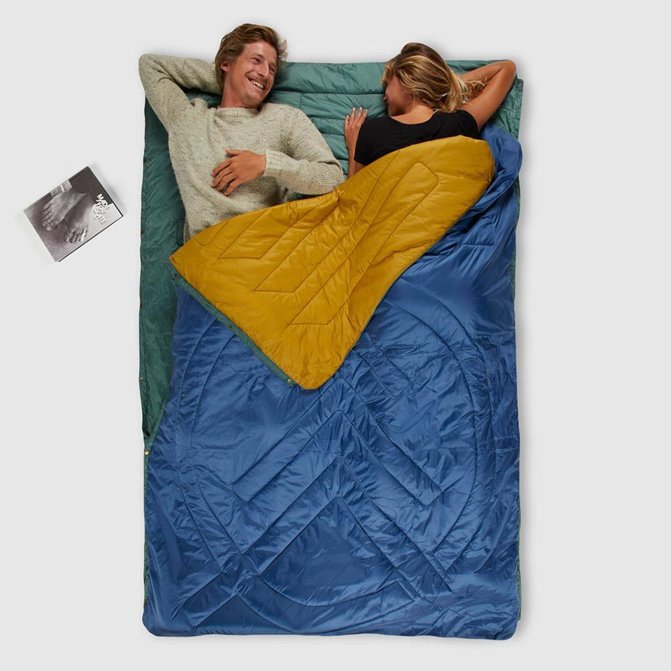 Voited Pillow Blanket
