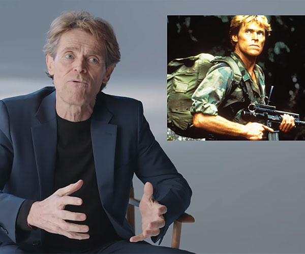 Willem Dafoe on His Famous Roles