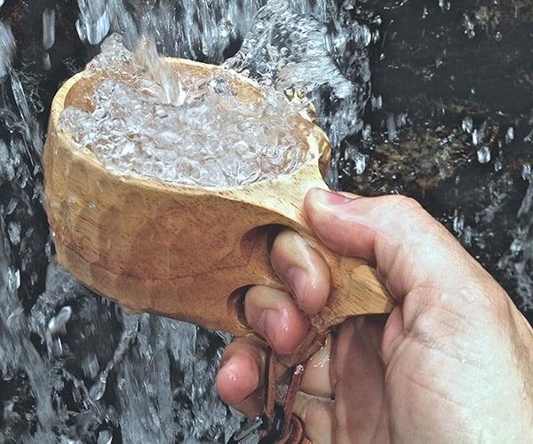 Wood Camp Mug