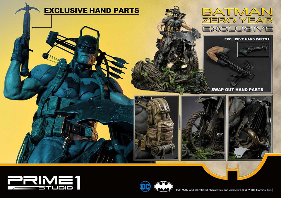 Prime 1 Batman Zero Year Statue
