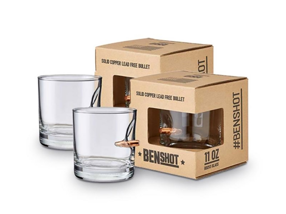 Bulletproof Rocks Glass Set